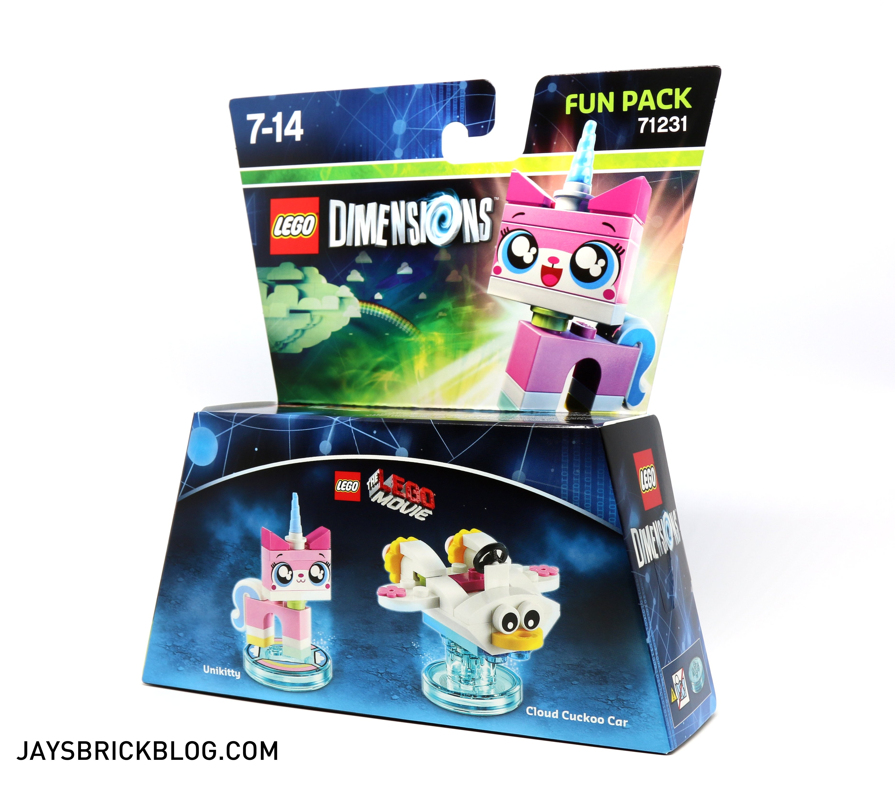 Review 71231 LEGO Dimensions Unikitty Fun Pack