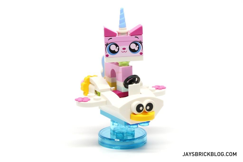 71231 LEGO Dimensions Unikitty Fun Pack - Unikitty Riding Cloud Cuckoo Car