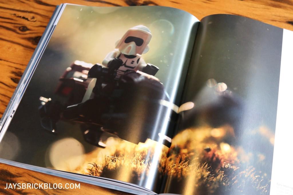 DK Star Wars Small Scenes From A Big Galaxy - Speeder Bike Photography
