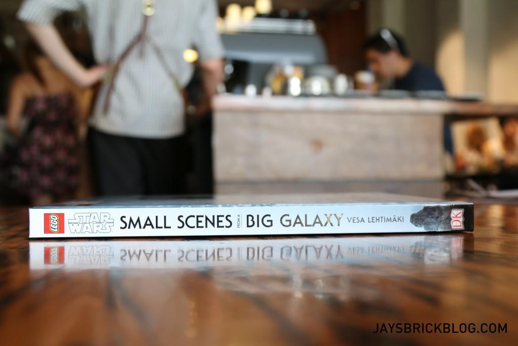 DK Star Wars Small Scenes From A Big Galaxy - Spine