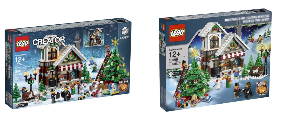 LEGO 10199 vs 10249 Box