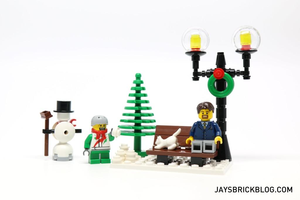 LEGO 10249 Winter Village Toy Shop - Bench