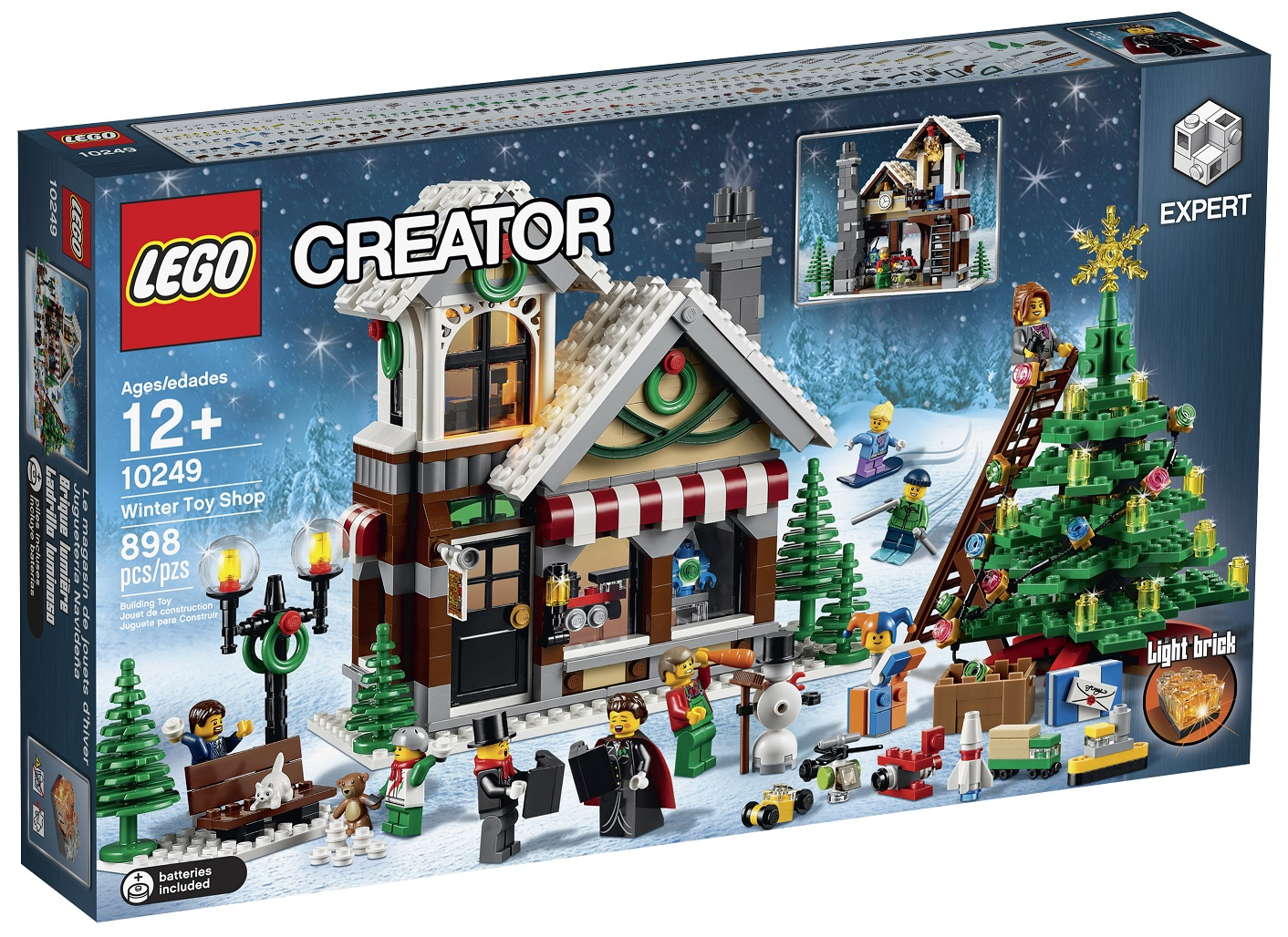review lego 10249 winter toy shop 2015. Black Bedroom Furniture Sets. Home Design Ideas