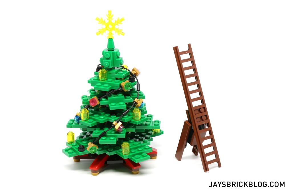 LEGO 10249 Winter Village Toy Shop - Christmas Tree and Ladder
