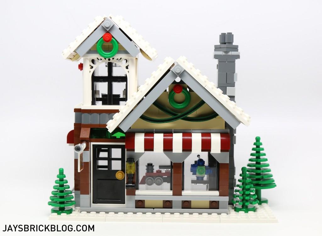 LEGO 10249 Winter Village Toy Shop - Front Facade