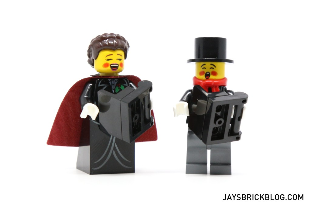 LEGO 10249 Winter Village Toy Shop - Minifigure Carollers