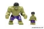 LEGO 5003084 The Hulk Polybag 2015 - Big and Small Hulk comparison