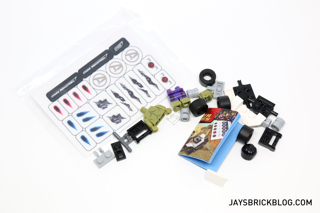 LEGO 5003084 The Hulk Polybag 2015 - Contents