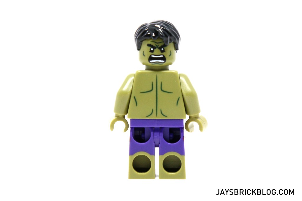 LEGO 5003084 The Hulk Polybag 2015 - Hulk Minifig Alternate Face