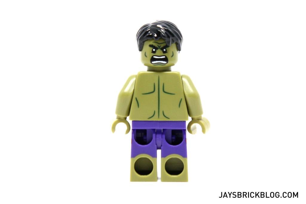 LEGO 5003084 The Hulk Polybag 2015 - Hulk Minifig Alternate Face