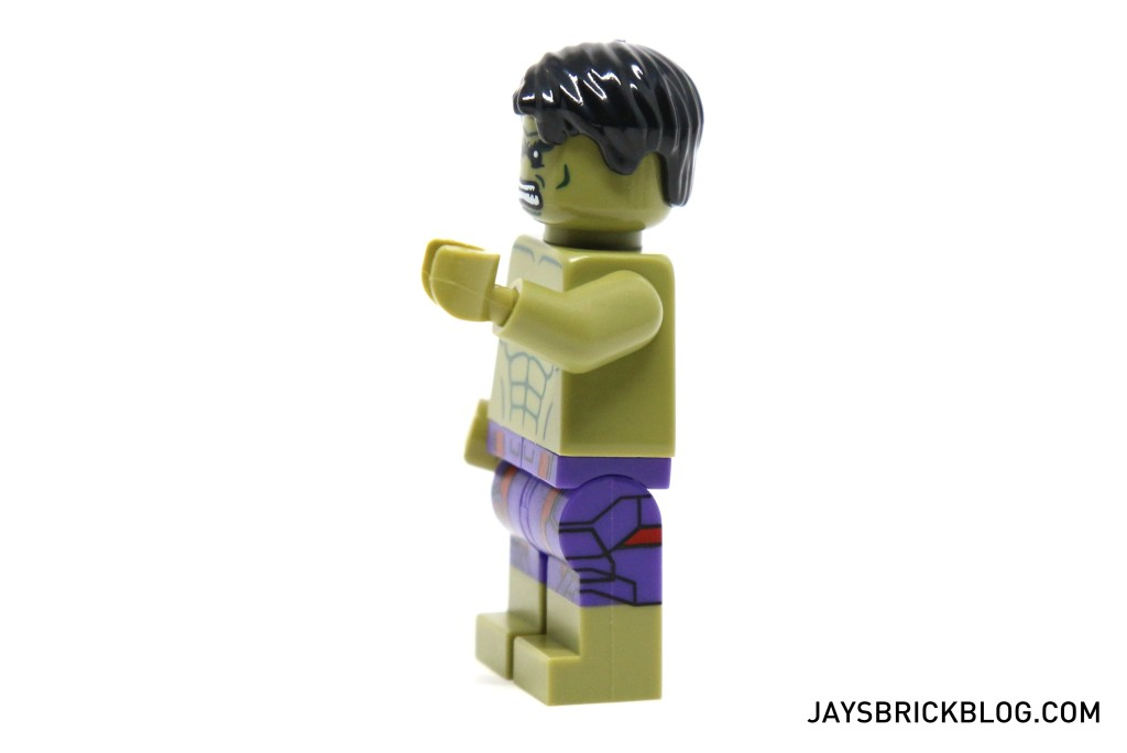 LEGO 5003084 The Hulk Polybag 2015 - Hulk Minifig Leg Printing