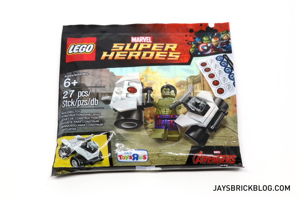 LEGO 5003084 The Hulk Polybag 2015 - Packaging