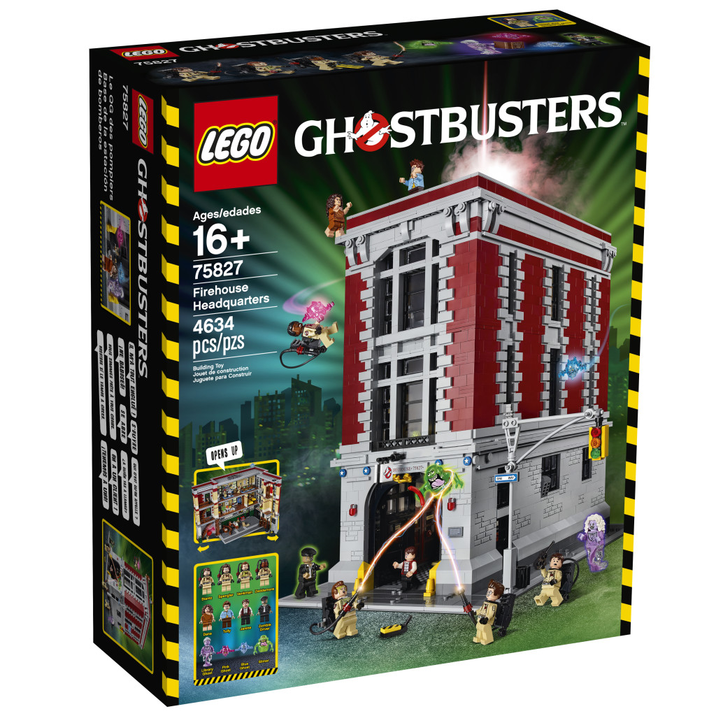 LEGO 75827 Ghostbusters Firehouse Headquarters - Box Art