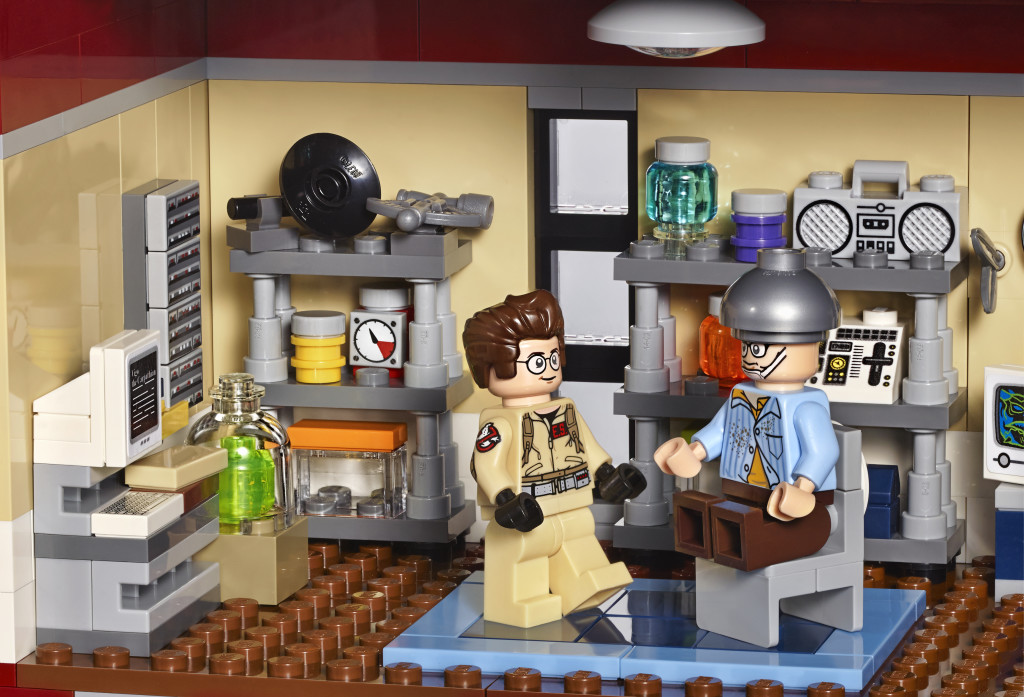 LEGO 75827 Ghostbusters Firehouse Headquarters - Lab