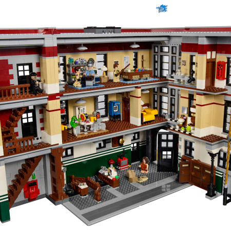 LEGO 75827 Ghostbusters Firehouse Headquarters - Playset Interiors