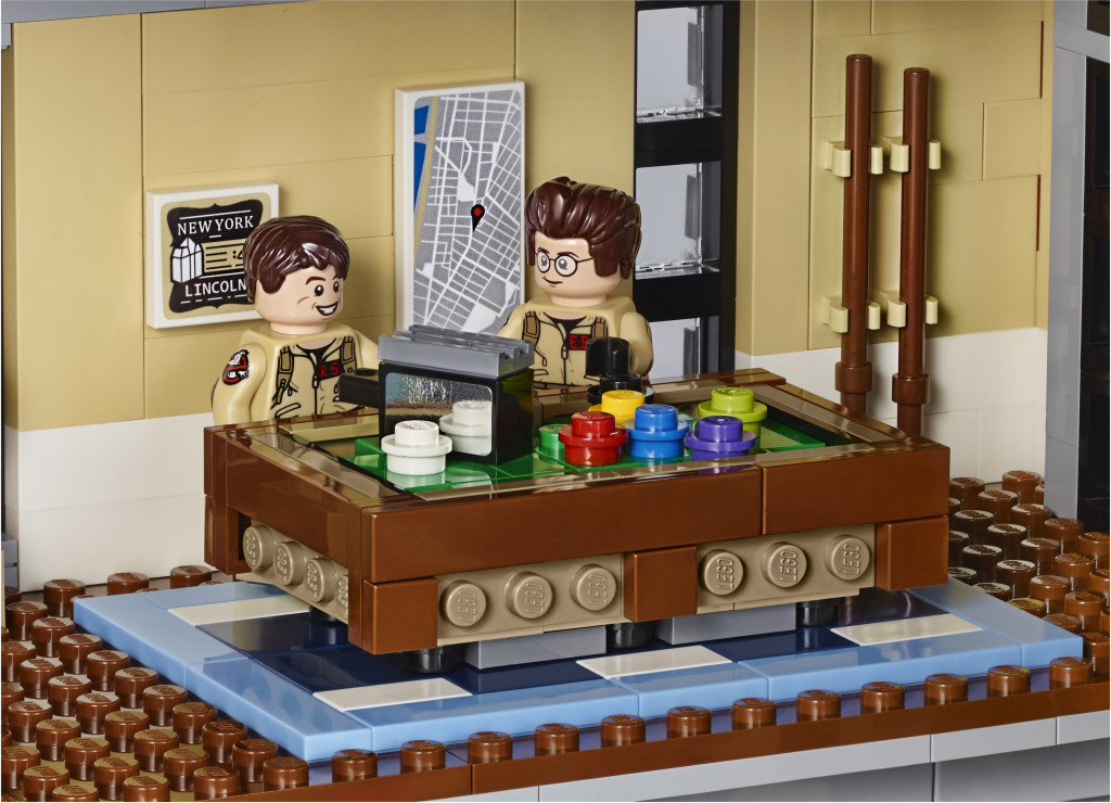 LEGO 75827 Ghostbusters Firehouse Headquarters - Pool Table