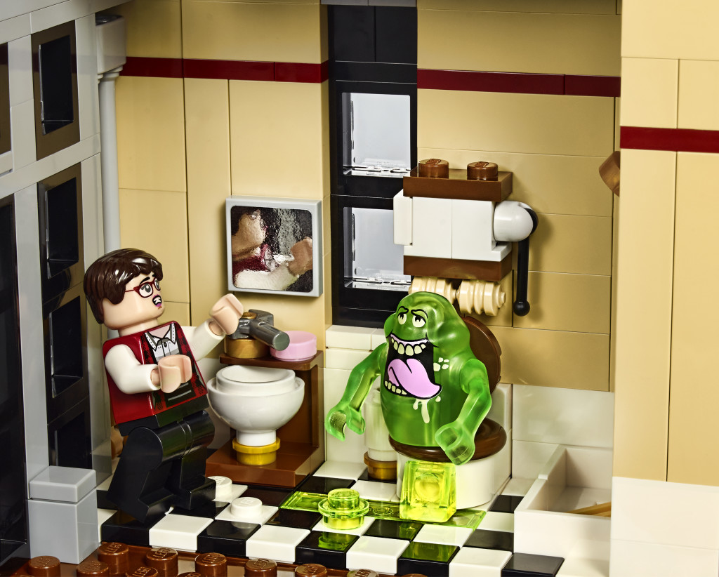 LEGO 75827 Ghostbusters Firehouse Headquarters - Slimer Toilet