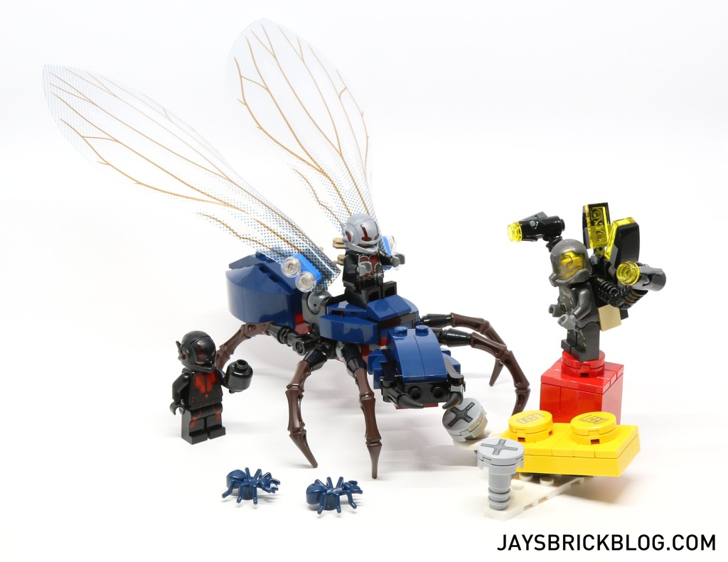 Review: LEGO 76039 – Ant-Man Final Battle