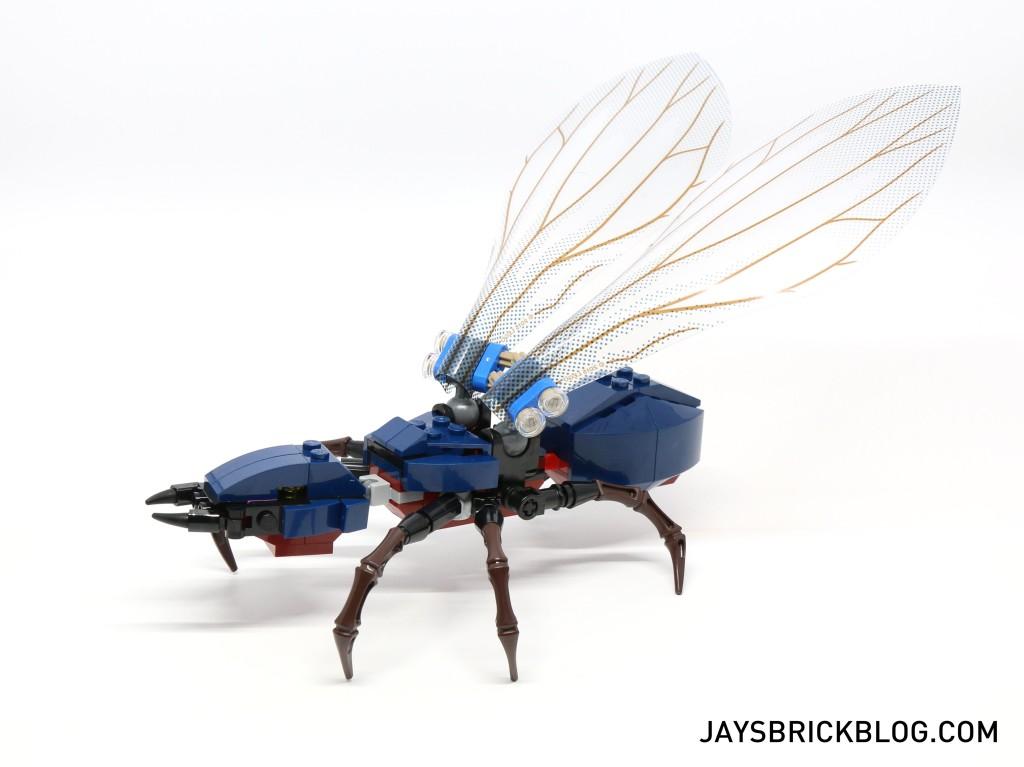 LEGO 76039 Ant-Man Final Battle - Antony Side View