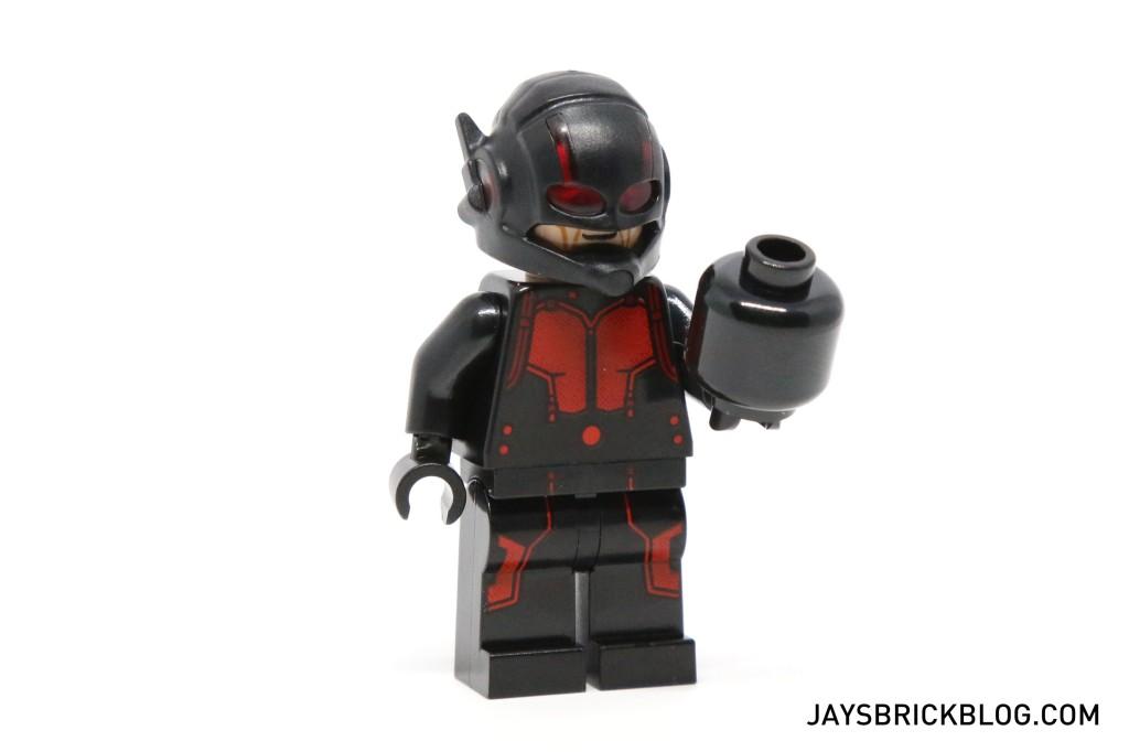 LEGO 76039 Ant-Man Final Battle - Hank Pym Black Head