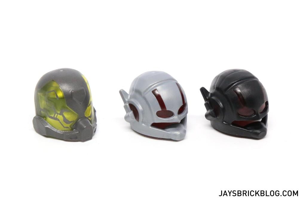 LEGO 76039 Ant-Man Final Battle - Helmets