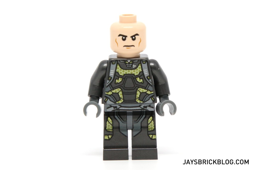 LEGO 76039 Ant-Man Final Battle - Yellow Jacket Minifig Face