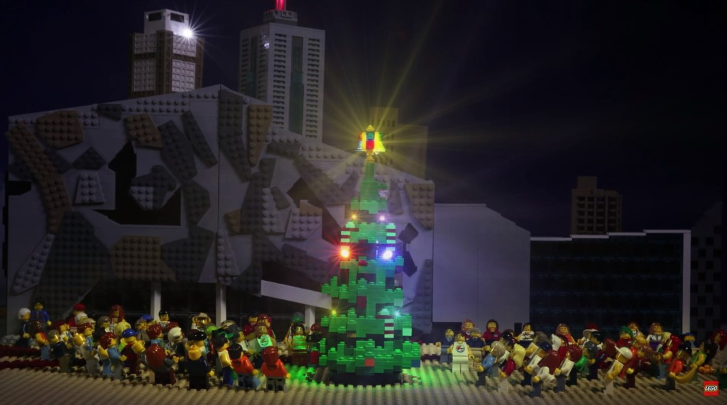LEGO Christmas Tree Melbourne 2015