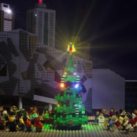 LEGO Christmas Tree Melbourne 2015