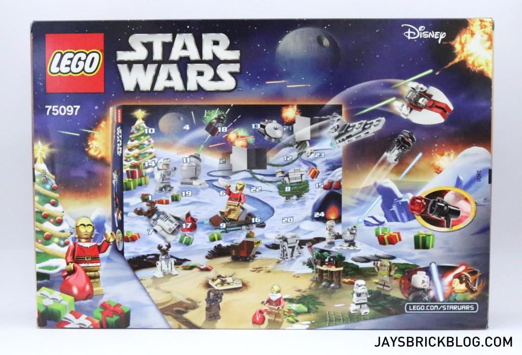 LEGO Star Wars Advent Calendar 2015 - Back