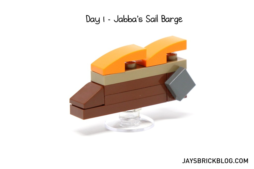 LEGO Star Wars Advent Calendar 2015 Day 1 - Jabba's Sail Barge