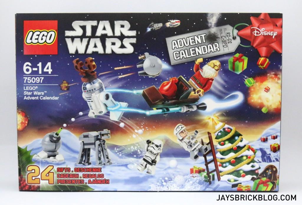 LEGO Star Wars Advent Calendar 2015 - Front