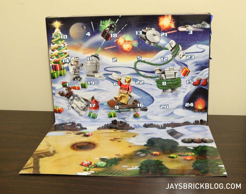 LEGO Star Wars Advent Calendar 2015 - Playmat