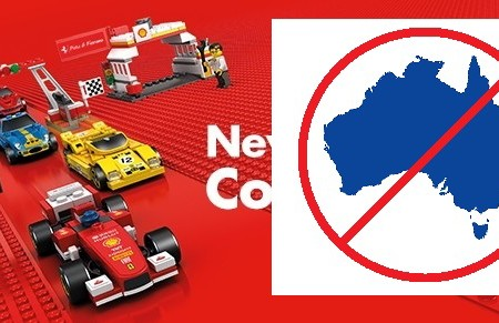 No Shell LEGO in Australia