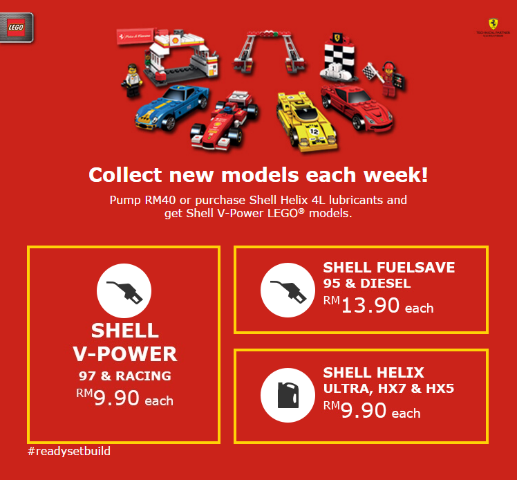 Shell LEGO Series 2 Malaysia Promotional Details