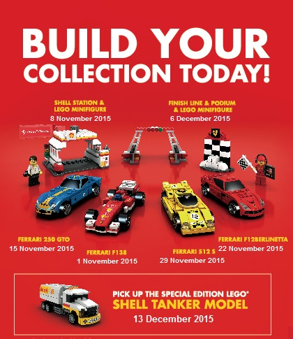 Shell V-Power LEGO® Collection Untuk Akif Dan Iman
