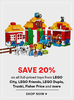 David Jones LEGO Boxing Day Sale 2015