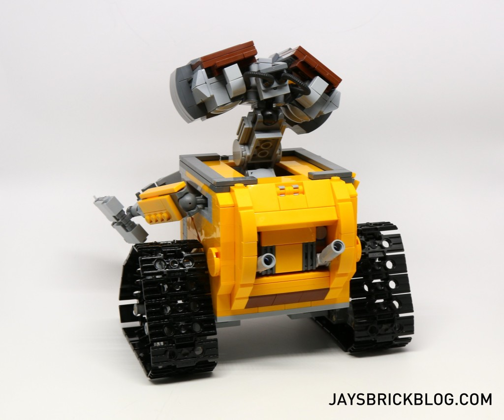 LEGO 21303 Wall-E -Back View