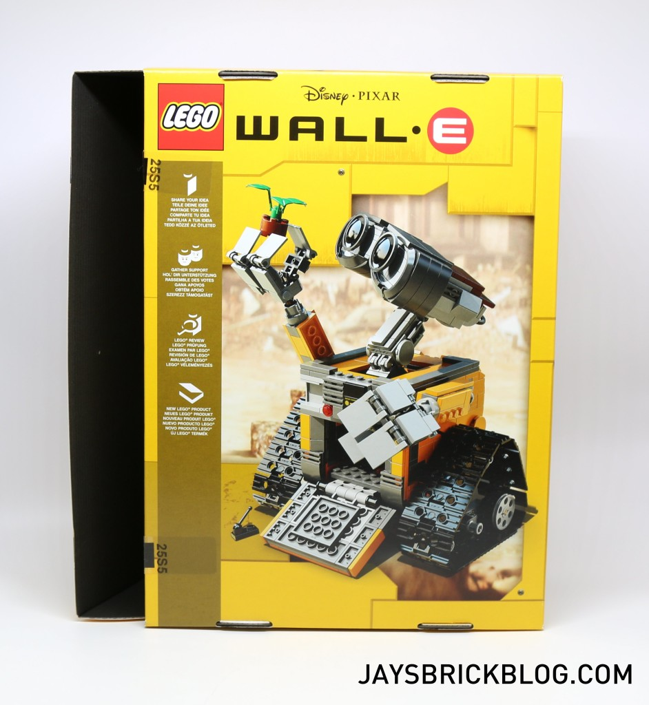 LEGO 21303 Wall-E -Box View Back