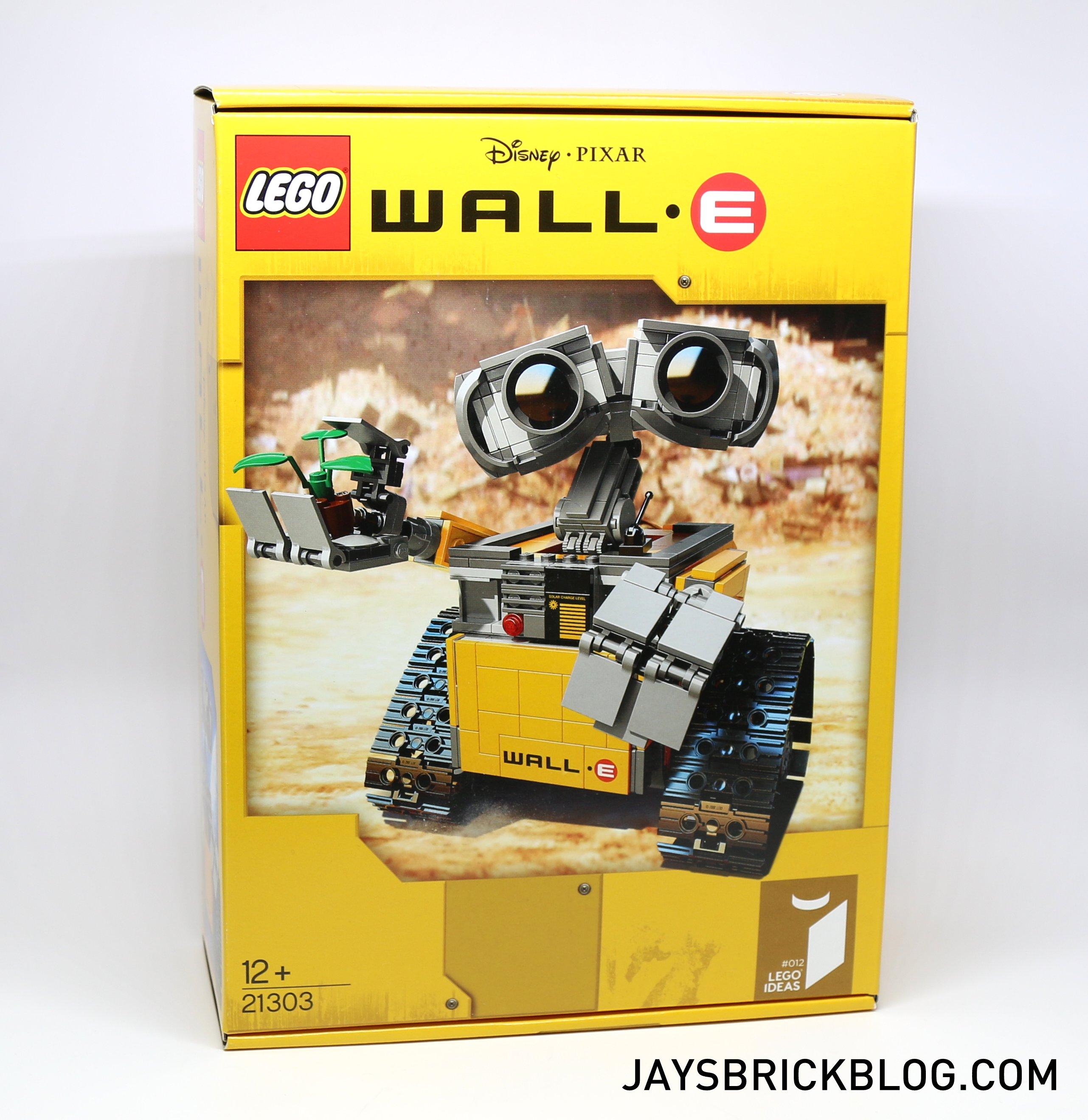 Review Lego Ideas 21303 Wall E Jay S Brick Blog