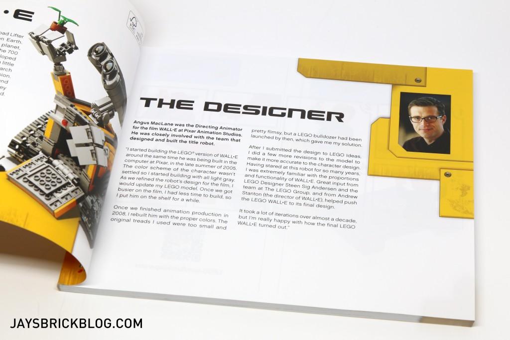 LEGO 21303 Wall-E -Designer Information