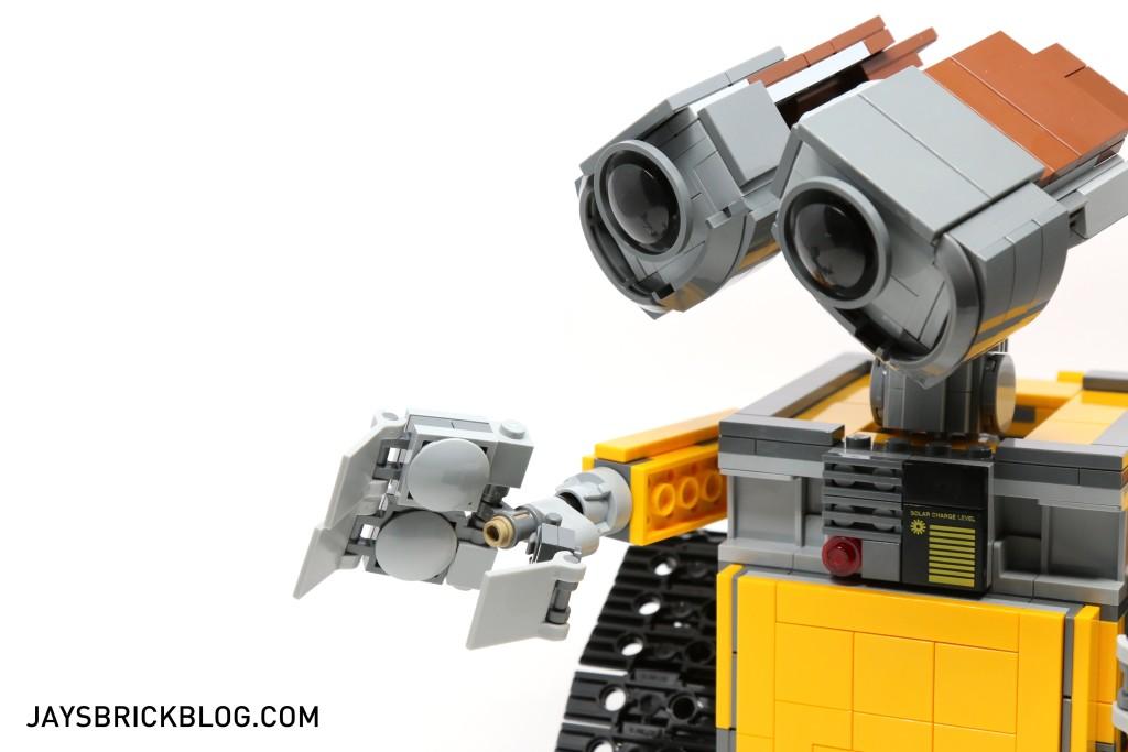 LEGO 21303 Wall-E -Hands