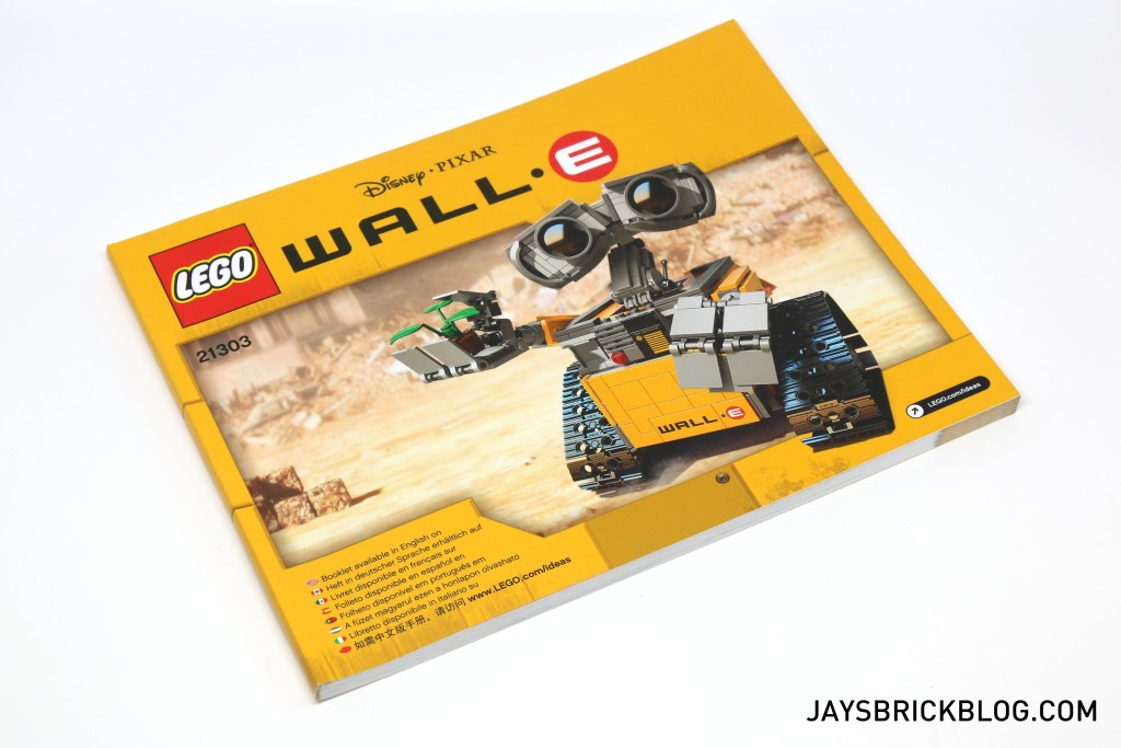 LEGO 21303 Wall-E -Instruction Manual