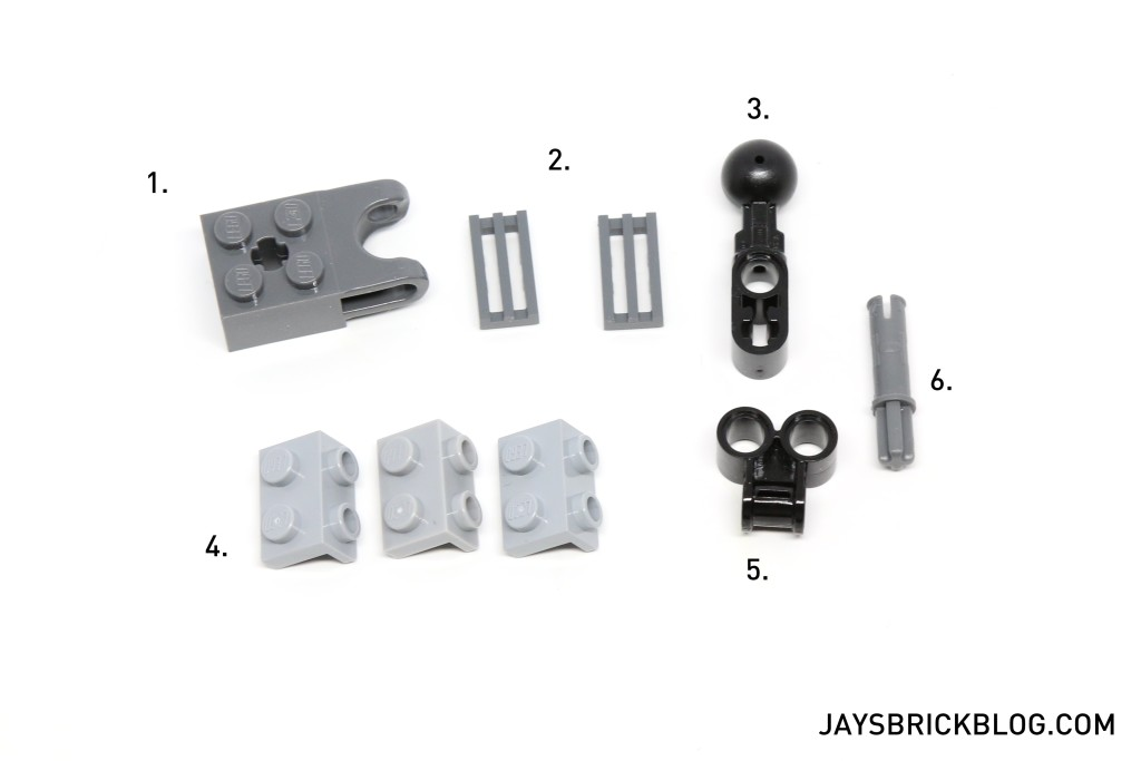 LEGO 21303 Wall-E - New Parts Required For Fix
