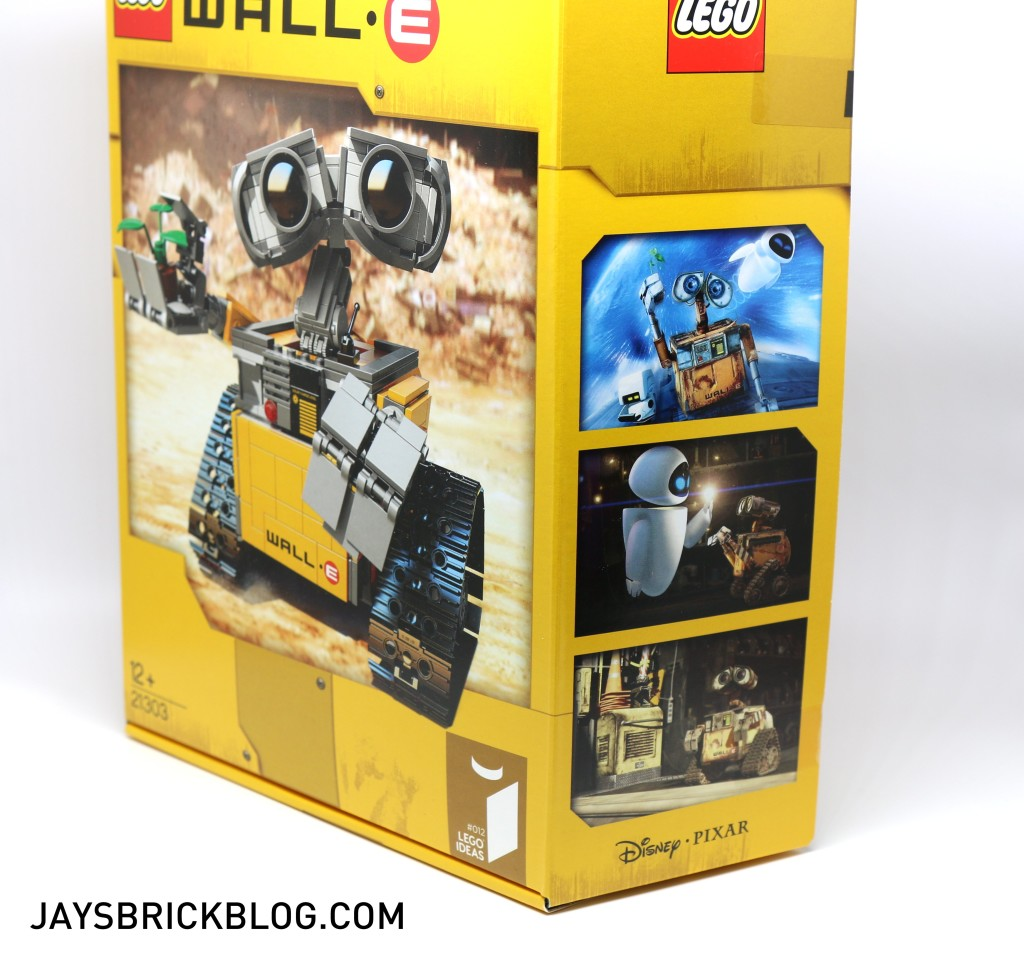 LEGO 21303 Wall-E -Side Box View 2