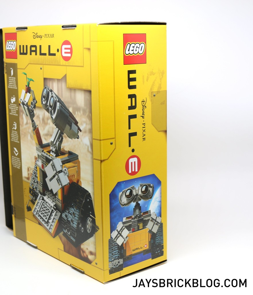 LEGO 21303 Wall-E -Side Box View