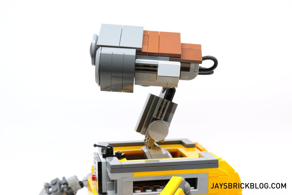 LEGO 21303 Wall-E -Side View Neck and Head