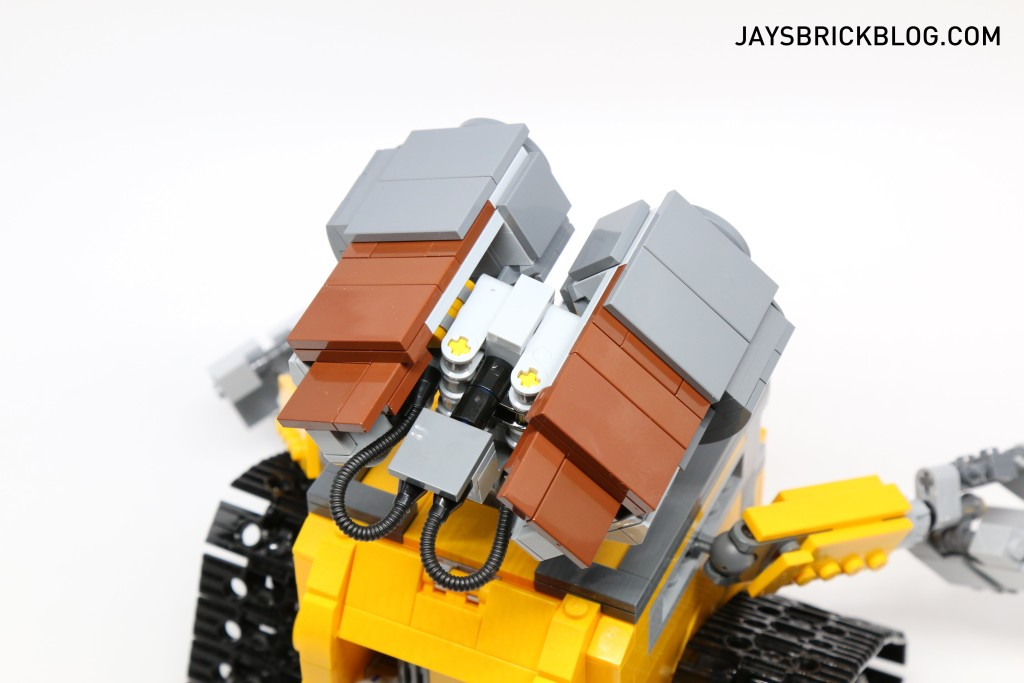 LEGO 21303 Wall-E -Top View Eyes