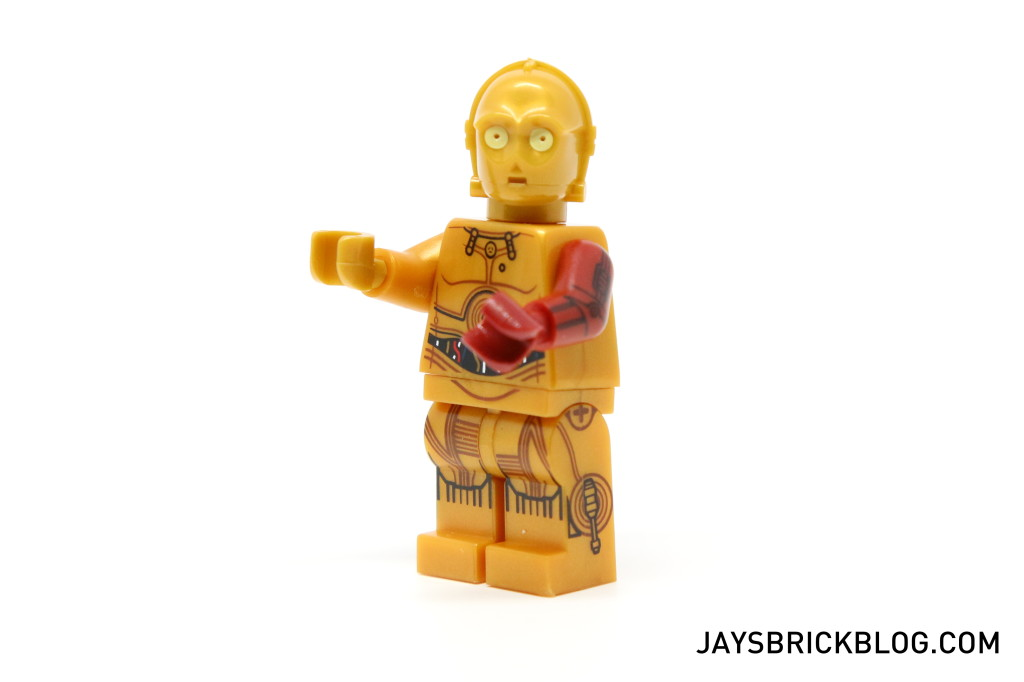 LEGO 5002948 C-3PO Force Awakens - C3PO Minifigure Arms Raised