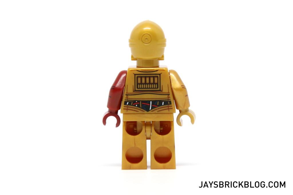 LEGO 5002948 C-3PO Force Awakens - C3PO Minifigure Back