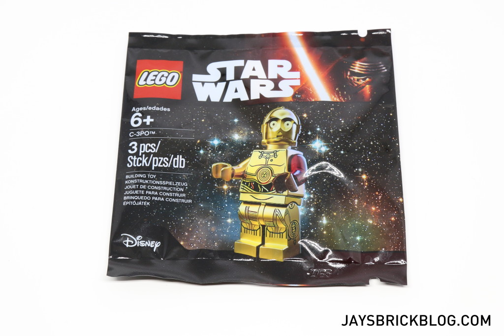 LEGO 5002948 C-3PO Force Awakens Polybag
